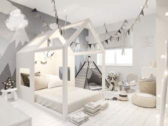 Pretty Scandinavian Kids Rooms Designs Ideas 12