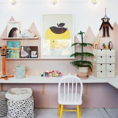 Pretty Scandinavian Kids Rooms Designs Ideas 48
