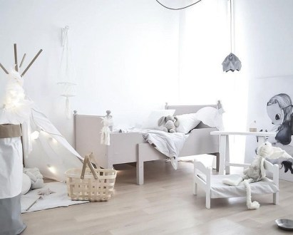 Pretty Scandinavian Kids Rooms Designs Ideas 52