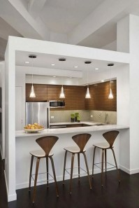 Stunning Small Kitchen Design Ideas For Home 47