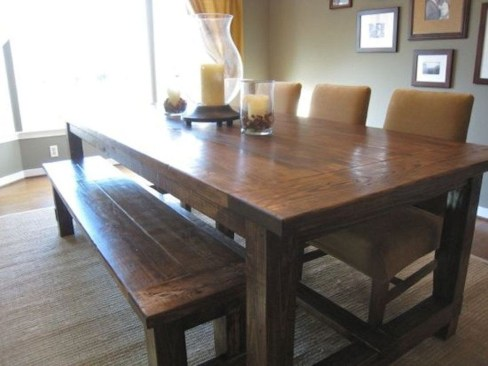 Adorable Farmhouse Tables Ideas For House 46