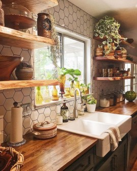 Attractive Kitchen Decorating Ideas With Farmhouse Style 07
