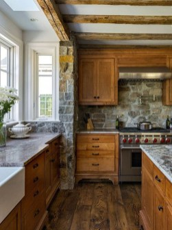 Attractive Kitchen Decorating Ideas With Farmhouse Style 08