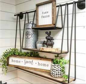 Attractive Kitchen Decorating Ideas With Farmhouse Style 13