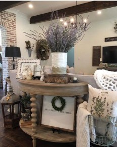 Attractive Kitchen Decorating Ideas With Farmhouse Style 40