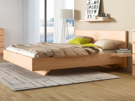 Best Wooden Platform Designs Ideas For Bed 12