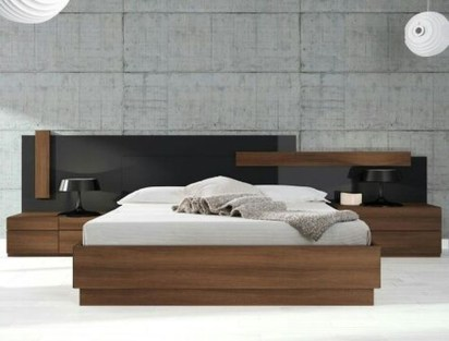 Best Wooden Platform Designs Ideas For Bed 15