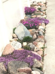 Brilliant Rock Garden Landscaping Ideas For Front Yard 04
