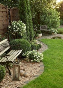 Brilliant Rock Garden Landscaping Ideas For Front Yard 09