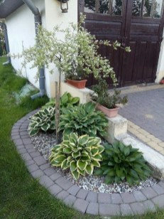 Brilliant Rock Garden Landscaping Ideas For Front Yard 11