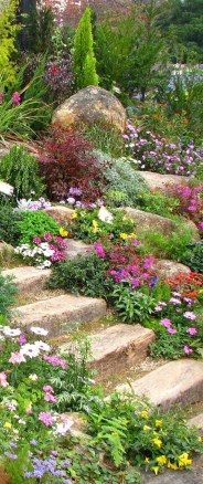 Brilliant Rock Garden Landscaping Ideas For Front Yard 15