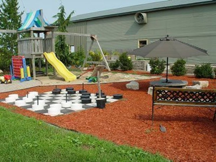 Awesome Frontyard Garden Design Ideas For Kids Playground Playground 08