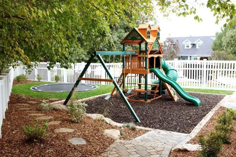 Awesome Frontyard Garden Design Ideas For Kids Playground Playground 29