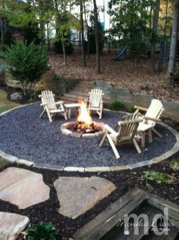 Creative Build Round Firepit Area Ideas For Summer Nights 12