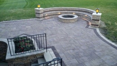 Creative Build Round Firepit Area Ideas For Summer Nights 25