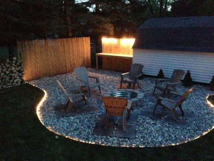 Creative Build Round Firepit Area Ideas For Summer Nights 38