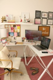 Lovely Small Home Office Ideas 05