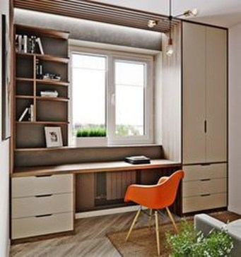 Lovely Small Home Office Ideas 08