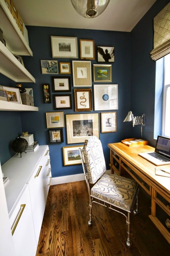 Lovely Small Home Office Ideas 60