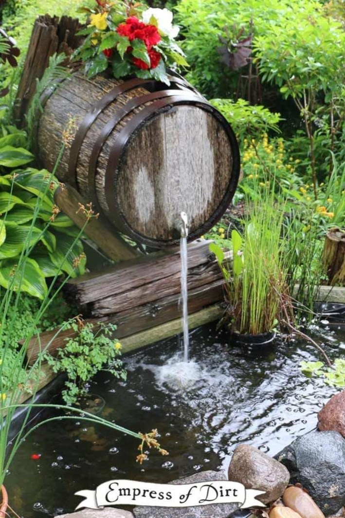 Modern Diy Garden Pond Waterfall Ideas For Backyard 04