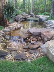 Modern Diy Garden Pond Waterfall Ideas For Backyard 07