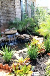Modern Diy Garden Pond Waterfall Ideas For Backyard 17