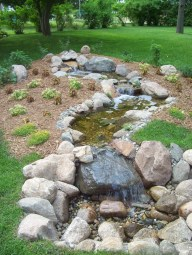 Modern Diy Garden Pond Waterfall Ideas For Backyard 19
