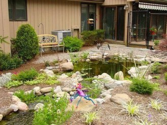 Modern Diy Garden Pond Waterfall Ideas For Backyard 28