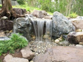 Modern Diy Garden Pond Waterfall Ideas For Backyard 31
