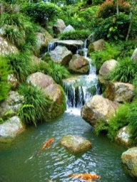 Modern Diy Garden Pond Waterfall Ideas For Backyard 39