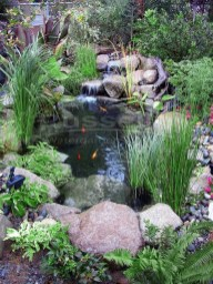 Modern Diy Garden Pond Waterfall Ideas For Backyard 40