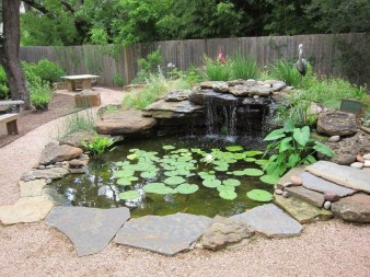 Modern Diy Garden Pond Waterfall Ideas For Backyard 46