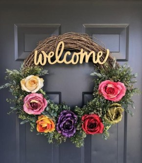 Beautiful Summer Wreath Design Ideas To Try Asap 06