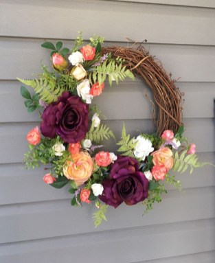 Beautiful Summer Wreath Design Ideas To Try Asap 25