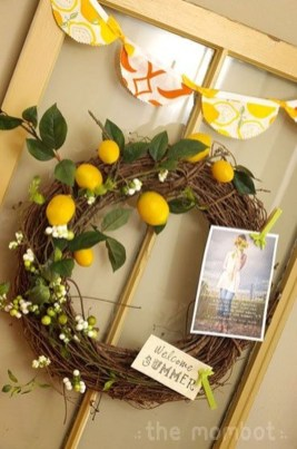 Beautiful Summer Wreath Design Ideas To Try Asap 35