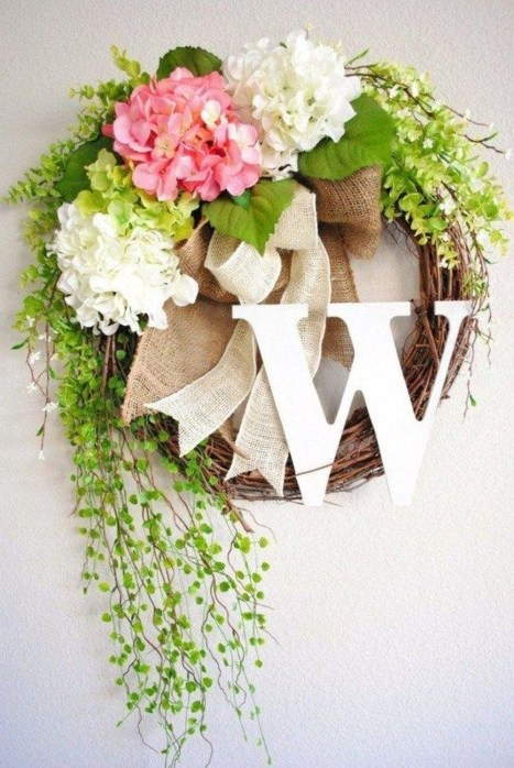 Beautiful Summer Wreath Design Ideas To Try Asap 46