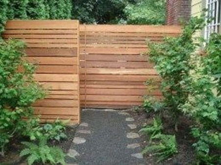 Charming Privacy Fence Ideas For Gardens 07
