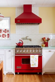Cool Colorful Kitchen Decor Ideas For Summer 09