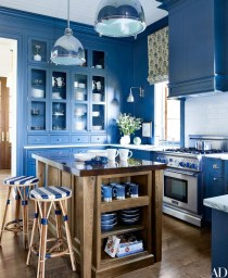 Cool Colorful Kitchen Decor Ideas For Summer 38
