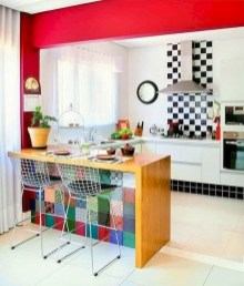 Cool Colorful Kitchen Decor Ideas For Summer 39
