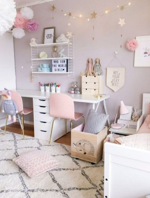 Cute Teen Girl Bedroom Design Ideas You Need To Know 28