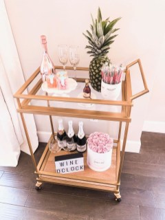 Elegant Mini Bar Design Ideas That You Can Try On Home 47