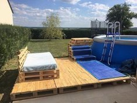 Fancy Diy Ideas To Make Bed Place From Pallet Project 11