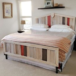 Fancy Diy Ideas To Make Bed Place From Pallet Project 32