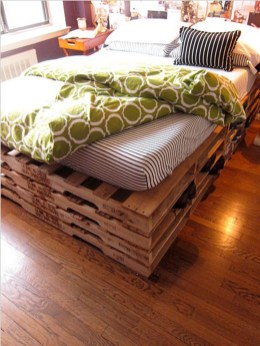 Fancy Diy Ideas To Make Bed Place From Pallet Project 50