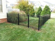 Gorgeous Black Wooden Fence Design Ideas For Frontyards 41