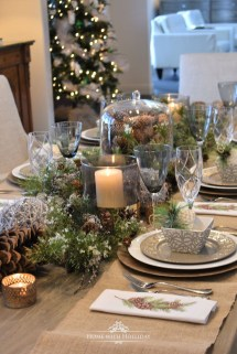 Hottest Christmas Table Decorating Ideas For You 06