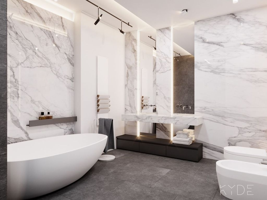 Incredible Bathroom Design Ideas For Summer 40