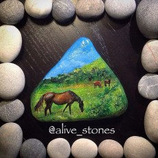 Inspiring Diy Painted Rocks Ideas With Animals Horse For Summer 46