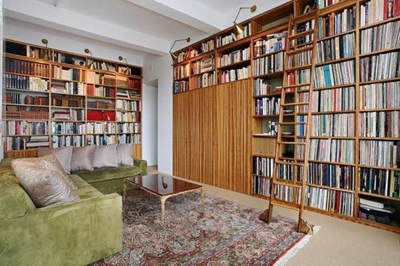Magnificient Home Design Ideas With Library You Should Keep 22